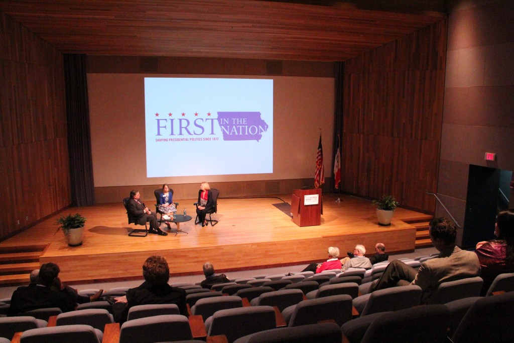 Panel discussion at the State Historical Museum. Photo by Katie Ramsey.