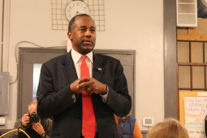 Ben Carson at Northside Cafe
